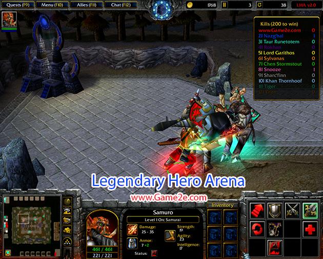 Legendary Hero Arena 23 AI