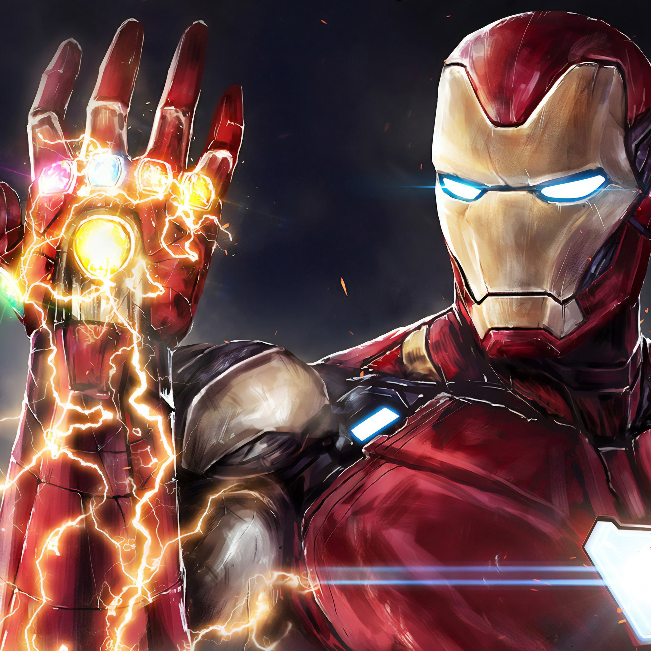 Iron Man Infinity Stones Avengers Endgame 4k 177