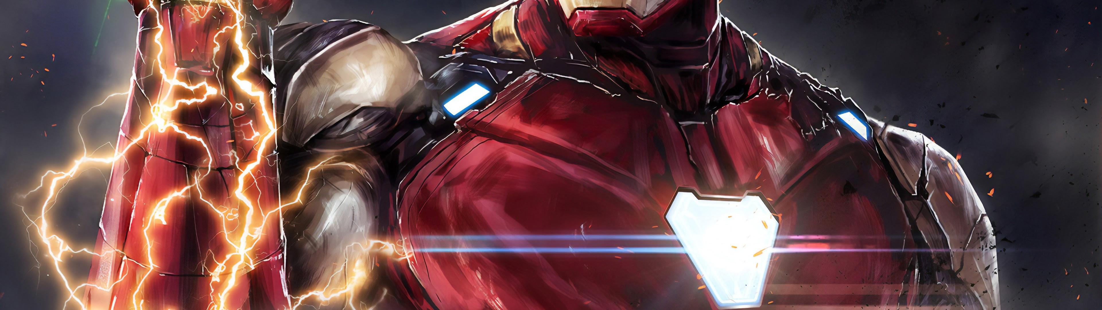Iron Man Infinity Stones Avengers Endgame 4k Wallpaper 177