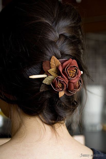 gorgeous christmas hair accessories