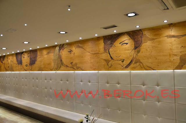 murales en madera arte