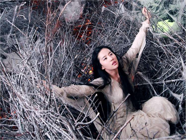 Crystal Liu as Nie Xiao Qian 2011 A Chinese Ghost Story