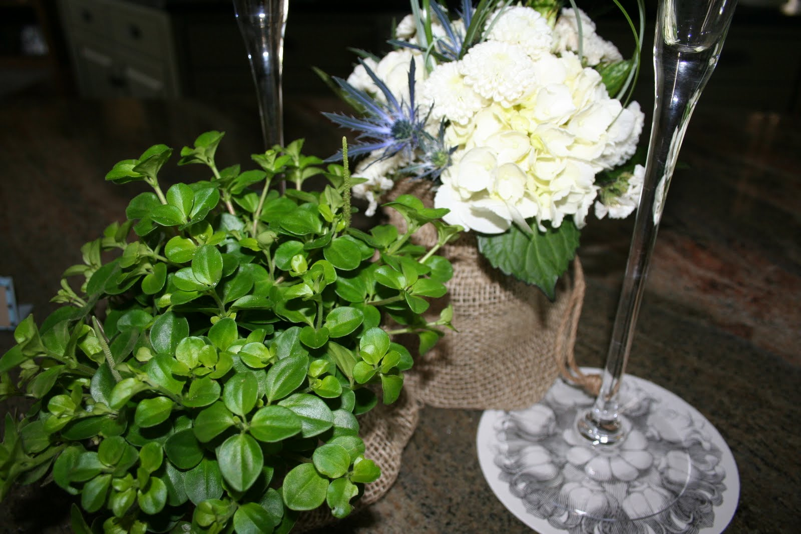 Can I get that recipe?: Natural-Themed Bridal Shower