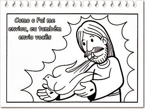 tia paula pregação e atividades para pentecostes