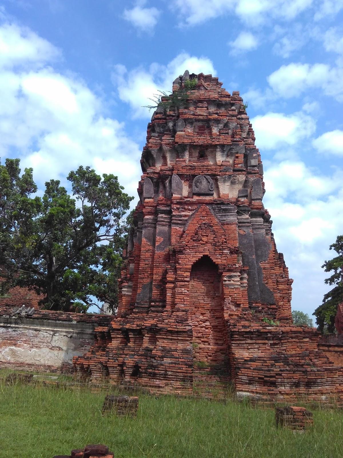 Ayuttaya Patrimônio Cultural Mundial
