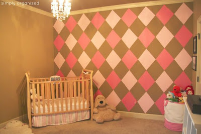 Girl's Nursery Decor