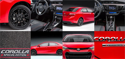 2016 toyota corolla special edition price specs reviews car junkie. Black Bedroom Furniture Sets. Home Design Ideas