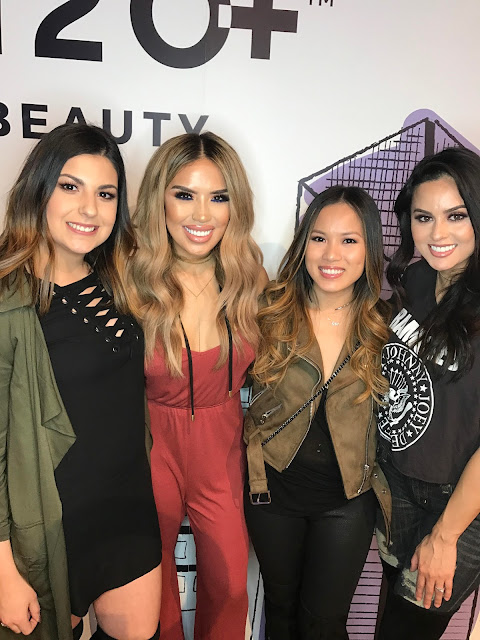 Iluvsarahii and Christen Domonique meet up at Generation Beauty LA