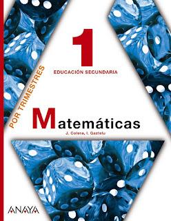 Libro Matemáticas 1º ESO Anaya