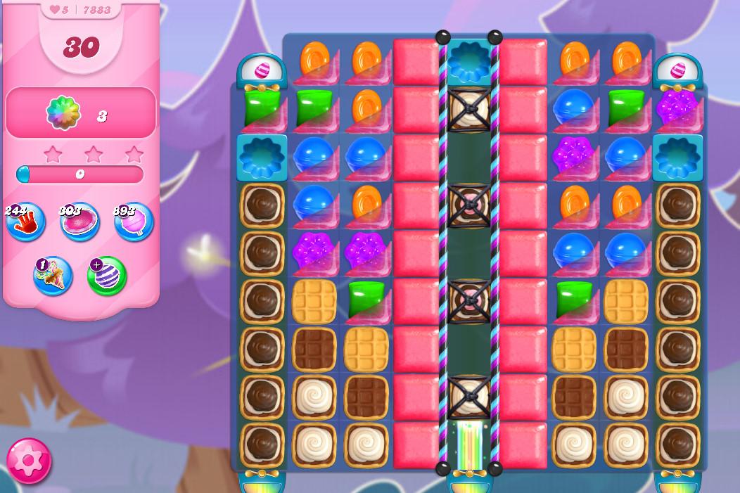 Candy Crush Saga level 7883
