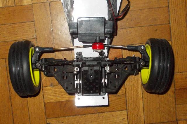 Homemade Kyosho Raider chassis