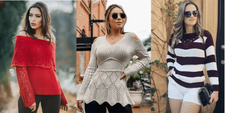 Tricot trend, aprenda a investir na peça de tricot e arrase no look no outono-inverno