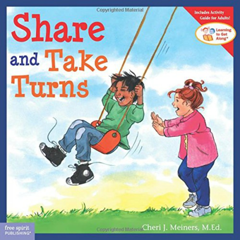 sharing and taking turns book  - Children's books about emotions and feelings for preschoolers