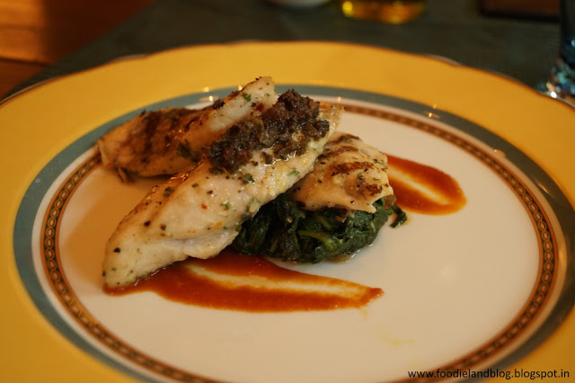 Grilled Indian Sea Bass @ An Evening Affair with Comedy and Gastronomy @ Vivanta by Taj - Yeshwantpur | Bangalore