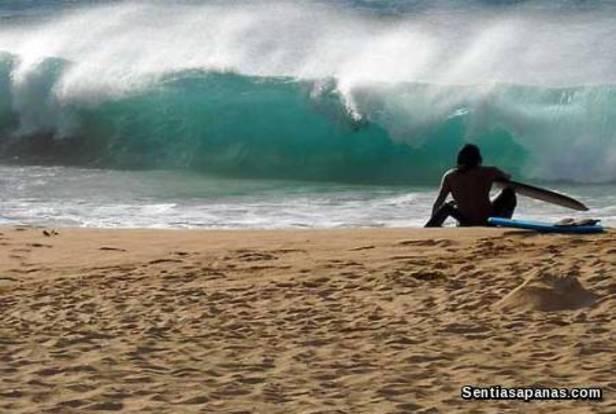 Pantai Sandy, Hawaii
