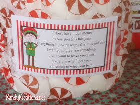 Christmas Toilet Paper Gag Gift Everyday Parties