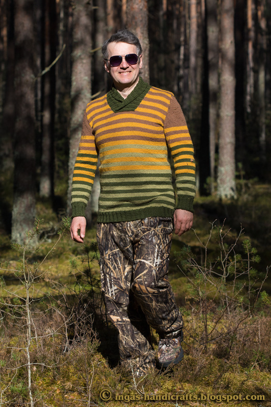 Triibuline džemper / Stripy Jumper