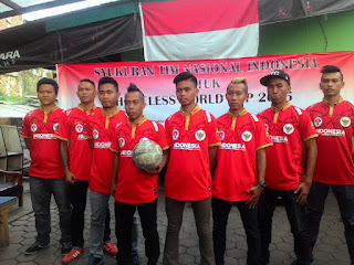 Timnas Indonesia Kembali Akan Berlaga di Homeless World Cup
