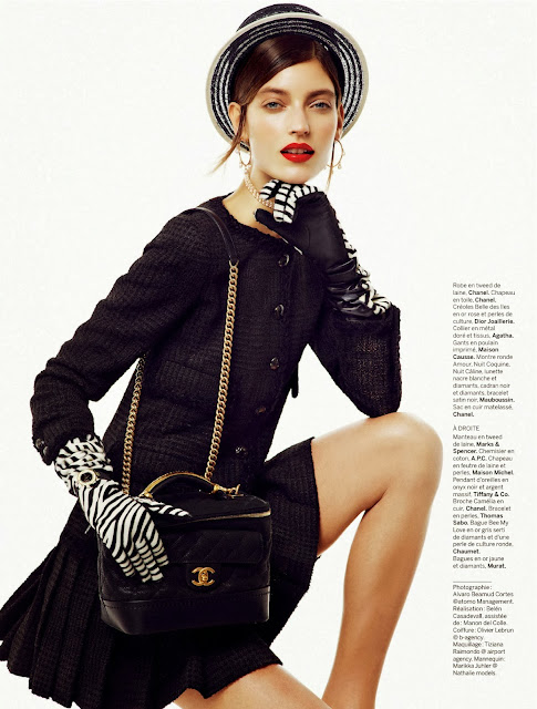 Editorial Fashion |  Marikka Juhler By Alvaro Beamud Cortes For Stylist France