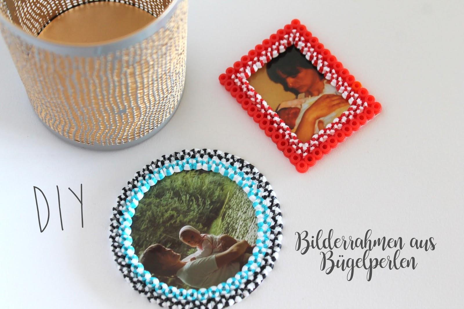 Kleines Freudenhaus Diy Bilderrahmen Aus Bugelperlen