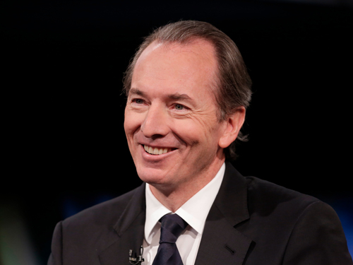 Morgan Stanley CEO James Gorman: If you got rich crashing the economy and didn't have to go to prison you would be grinning too.