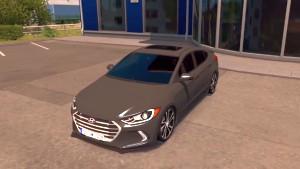 Hyundai Elantra 2017 car mod