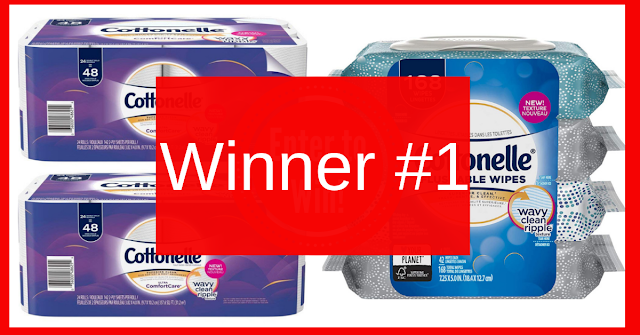 Cottonelle Prize Pack Winner