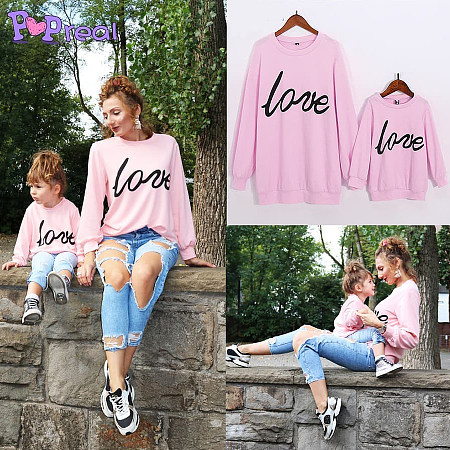 https://www.popreal.com/Products/mom-girl-solid-color-letter-pattern-matching-top-23892.html?color=pink