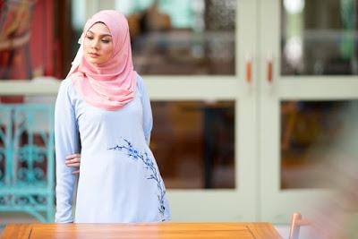 gaya busana hijab vintage