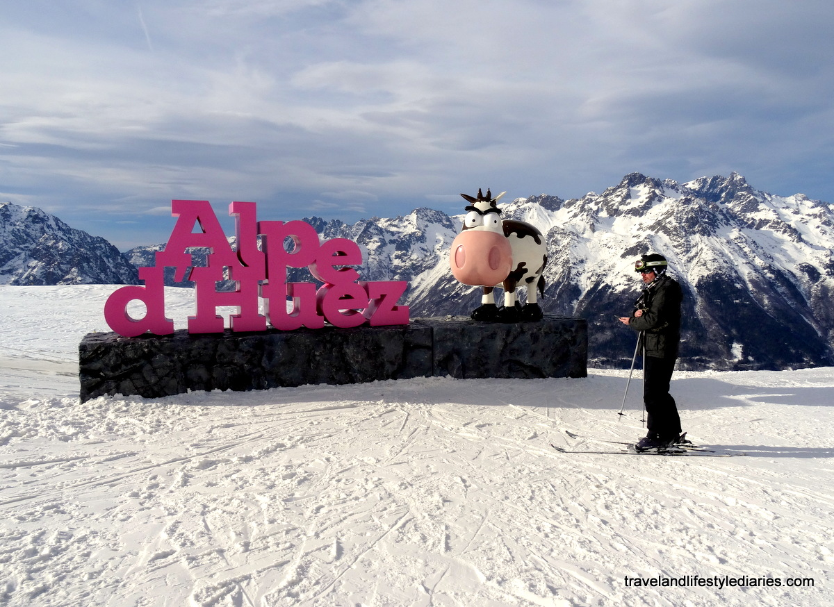 Last Day Skiing Photos in Alpe dHuez Grand Domaine Ski Travel and