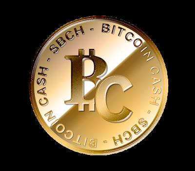 ビットコインキャッシュ(Bitcoin Cash)のフリー素材(金貨ver)