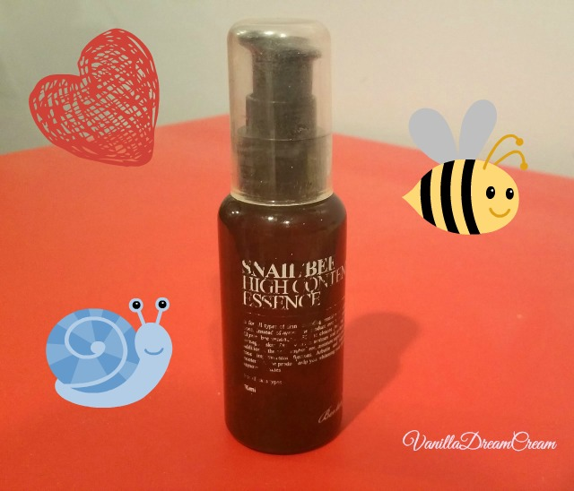 amber bottle snail bee high content essence