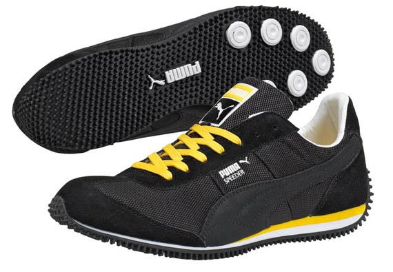 Puma Shoes Green Black
