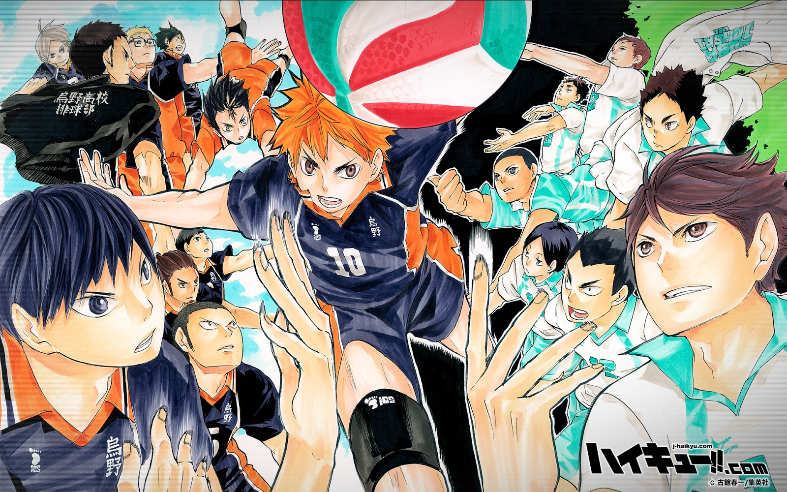 Inspired After Watching A Volleyball Ace Nicknamed Little Giant In Action Small Statured Shouyou Hinata Revives The Club At His Middle School