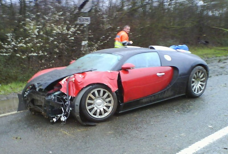Million Dollar Sports Car Crash