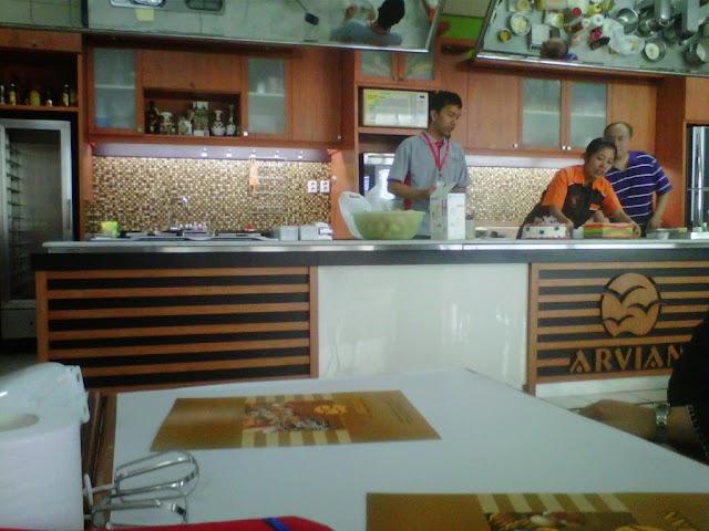 Kursus Kue di Arvian Surabaya