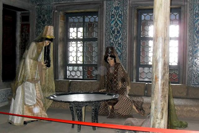 Harem del Palacio Topkapi en Estambul