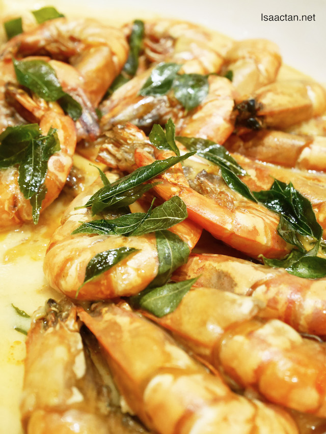 Wok Fried Tiger Prawn with Butter Sauce