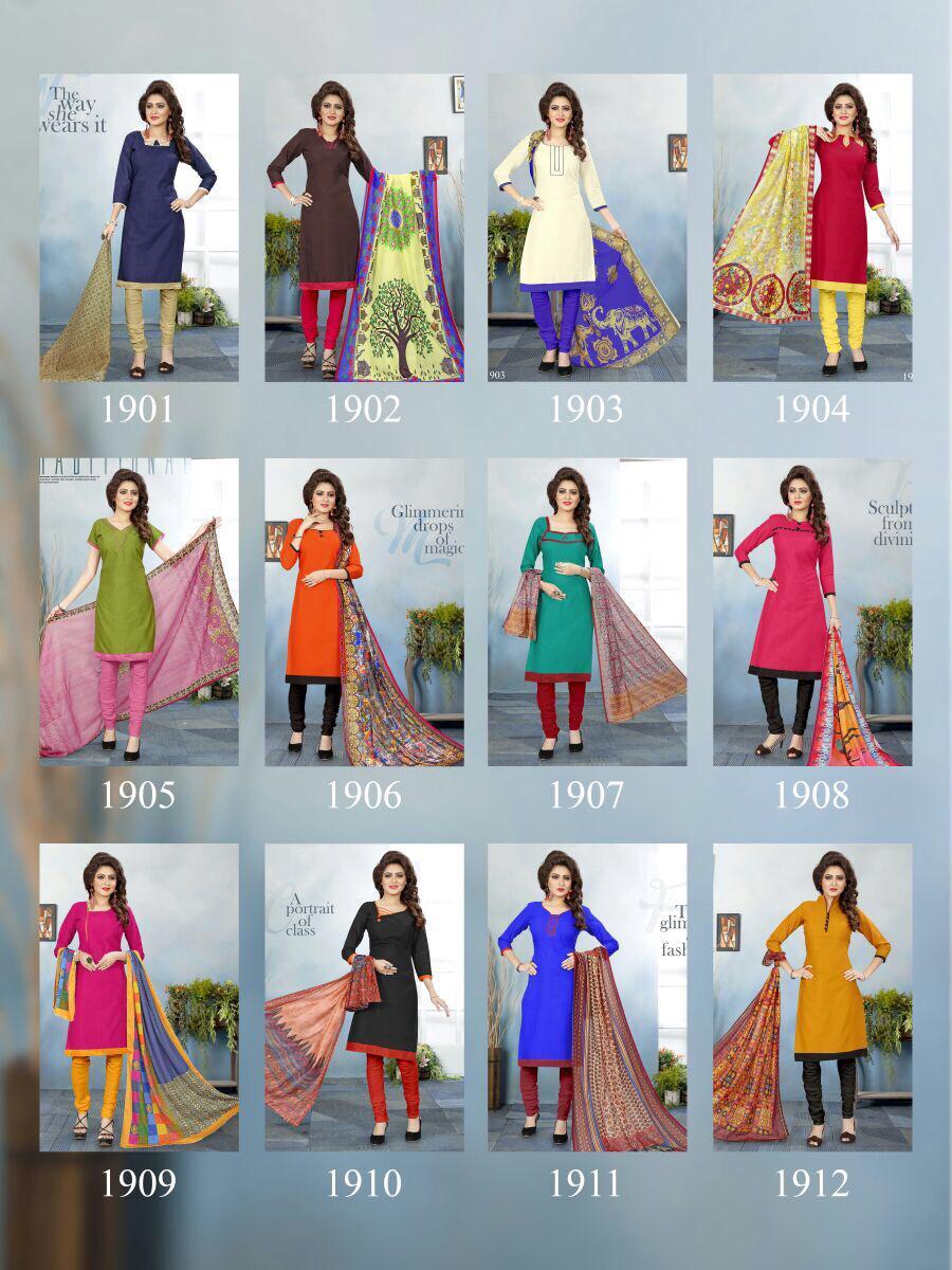 Padmavati-New Arrival Cottan salab Dress Material