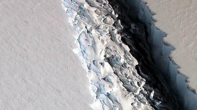 Un iceberg dos veces mayor a Luxemburgo se desprende de la Antártida