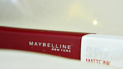 Maybelline SuperStay Matte Ink ruž za usne - najgori ruž ikad?