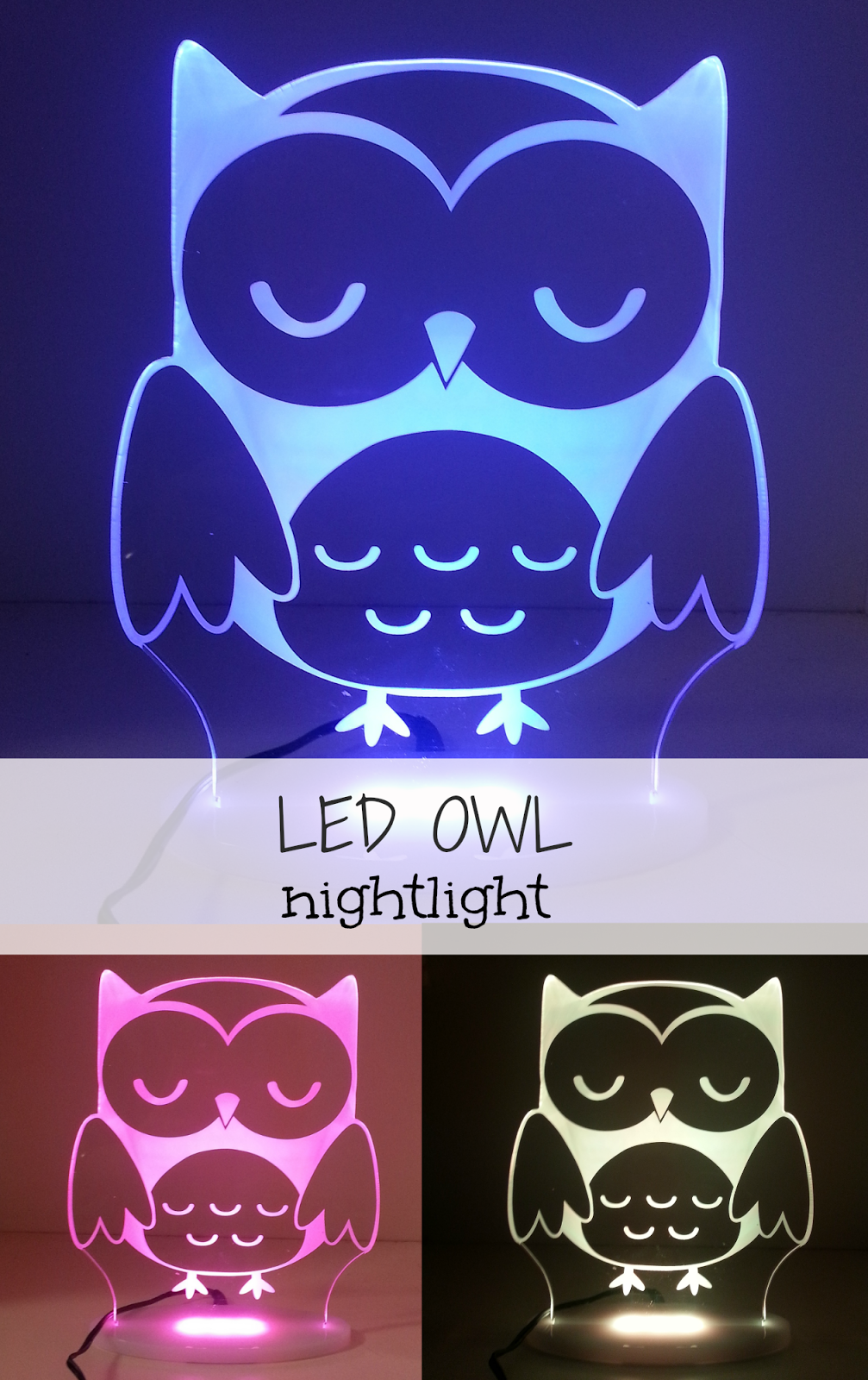 Led owl kids my dream night light