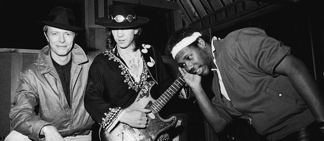 Stevie Ray Vaughan y David Bowie