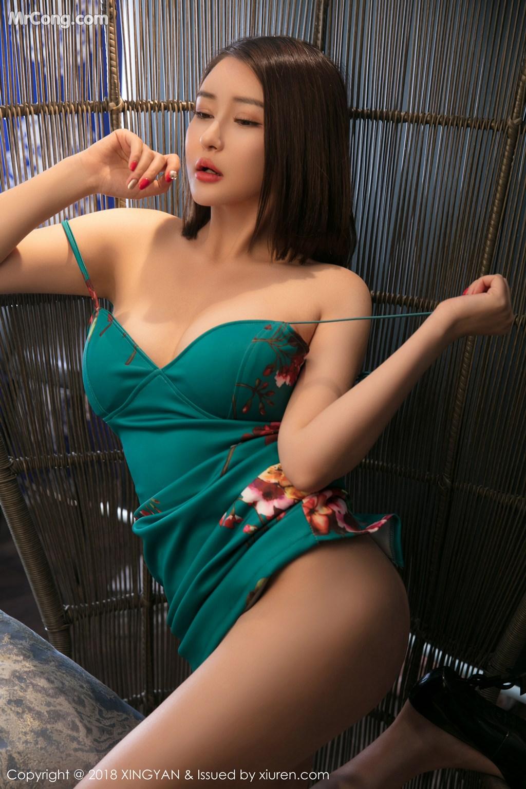 Image XingYan-Vol.028-MrCong.com-032 in post XingYan Vol.028: Người mẫu 廿十 (41 ảnh)