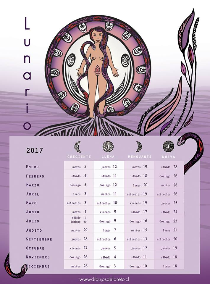 Ngeles amor fases de la luna para el 2017 for Cambios de luna 2017