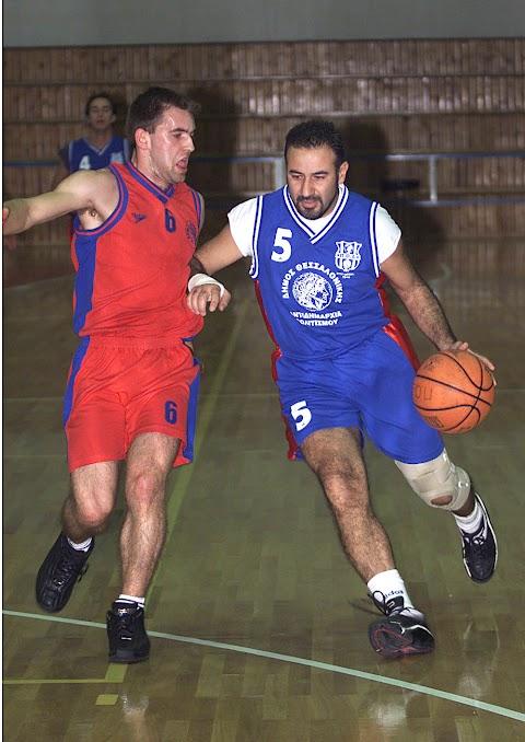 Ρετρό: Φωτορεπορτάζ από τον αγώνα ΠΟ Ξηροκρήνης-Μέγας Αλέξανδρος Καλοχωρίου για τον Α΄ όμιλο της Β΄ ΕΚΑΣΘ ανδρών την περίοδο 2002-2003