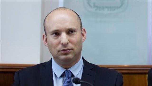 Hard-line Israeli politician Naftali Bennett urges Israelis to 'give their lives' for annexation of West Bank