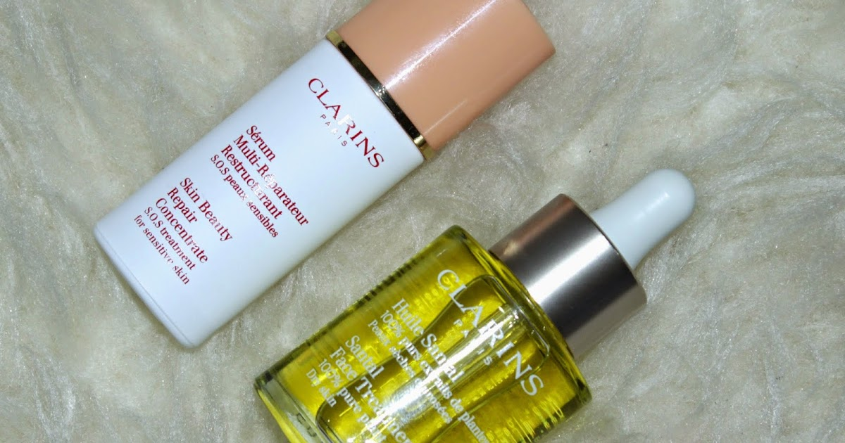 Skin Beauty Repair Concentrate - S.O.S Treatment for Sensitive Skin by Clarins #4