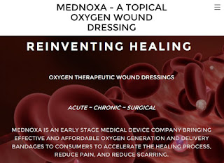 MedNoxa Develop Novel Over-The-Counter Wound Healing Solution