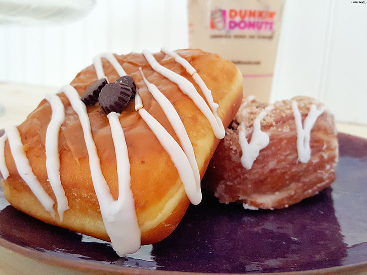 Dunkin' Donuts is always delicious but the new items on the menu will blow your mind! The Blueberry Cobbler Croissant donut is out of this world delicious and the Caramel Latte Square will leave you wanting seconds! Go ahead and check out the new menu items today...